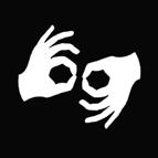 symbol for sign language