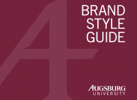 Augsburg Brand Style Guide