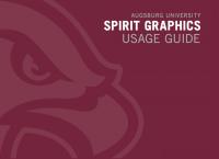 Augsburg Spirit Graphics Usage Guide
