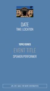 Sample Event Screen