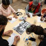 art project participants