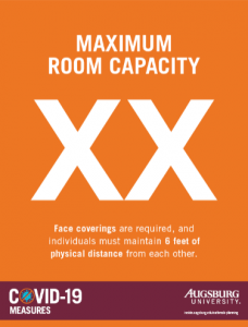 room capacity template