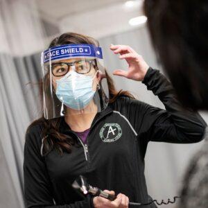 Epidemiologist Alicia Quella
