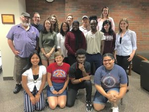 2019-2020 Writing Center Tutors